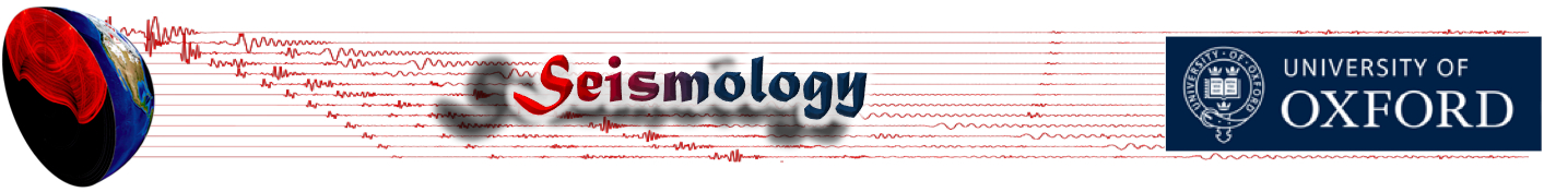 Computational seismology @ Oxford
